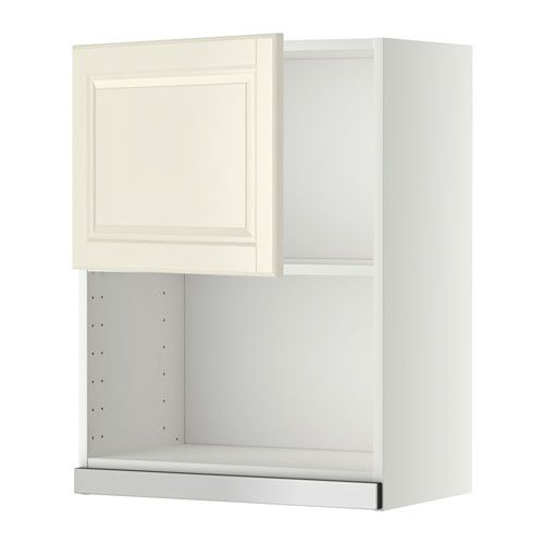 METOD Pensile per forno a microonde - bianco, Bodbyn bianco sporco ...