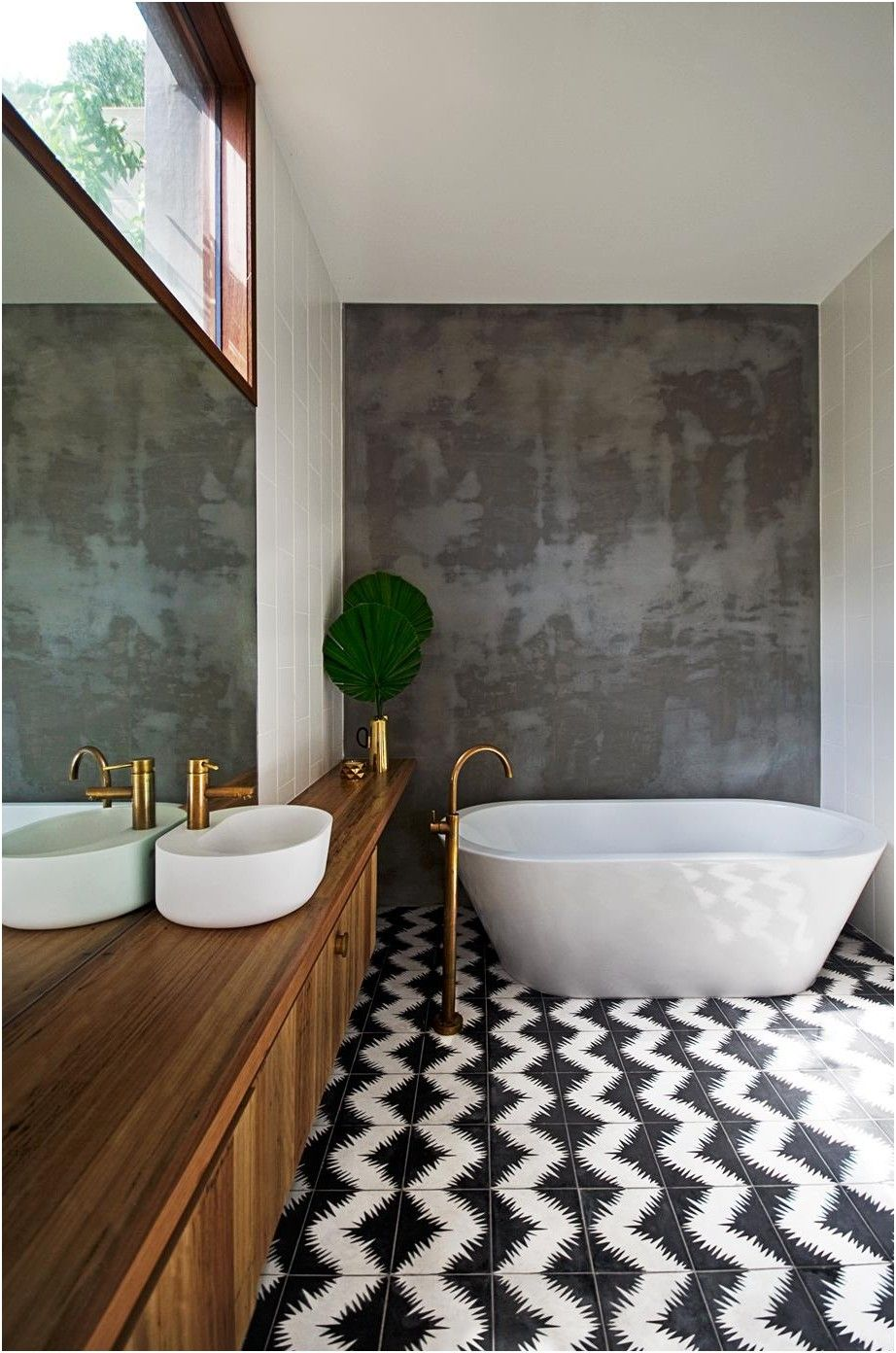 Br Tapware In This Earthy Bathroom By Auhaus Architects From Designs