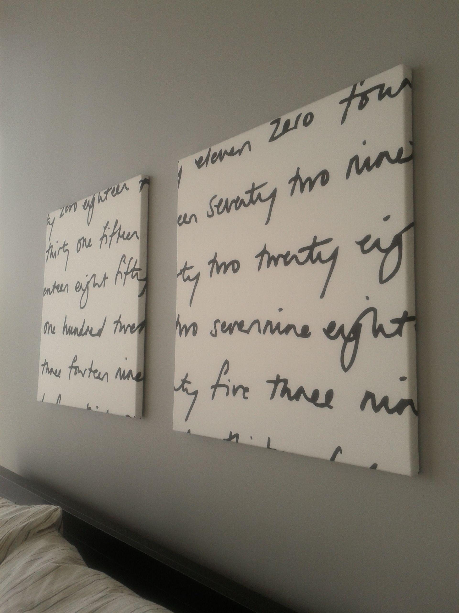 My homemade canvas wall art :-) | D.I.Y. | Pinterest | Homemade ...