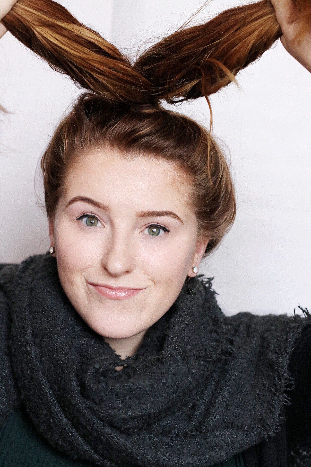 5 Steps To The Perfect Top Knot #topknotbunhowto