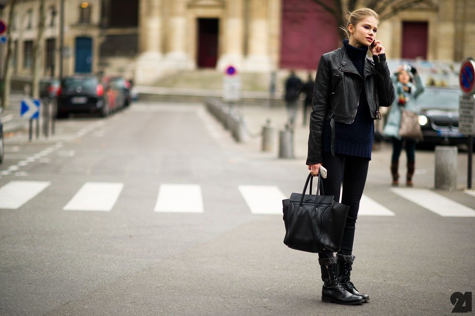 Paris Street Fashion In France
