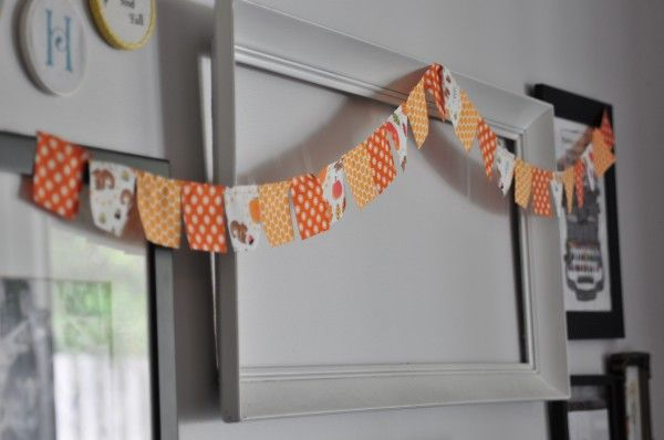 DIY easy garland tutorial for the holidays