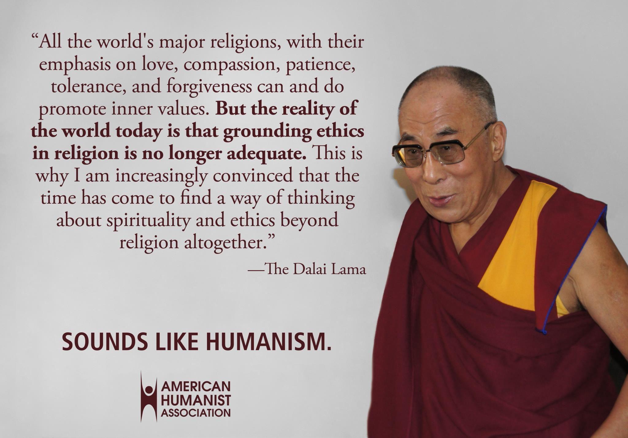Dalai Lama Today Quote