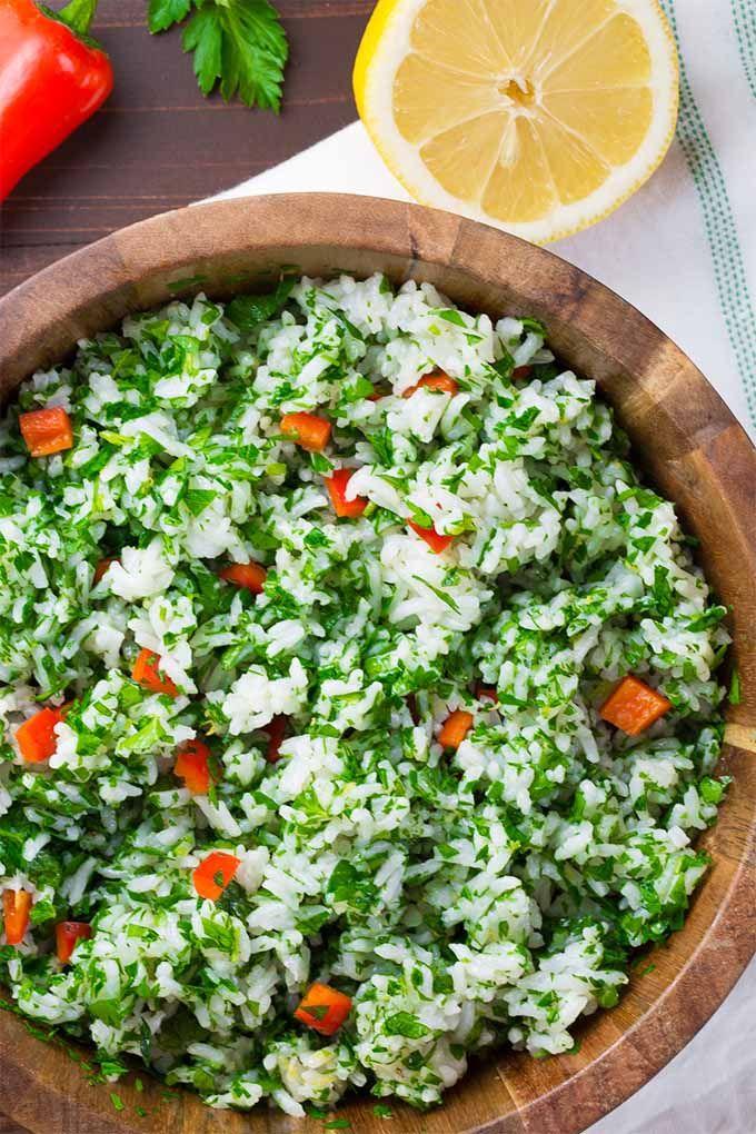 The Best Lemon Parsley Rice Salad | Recipe | Foodal's ...