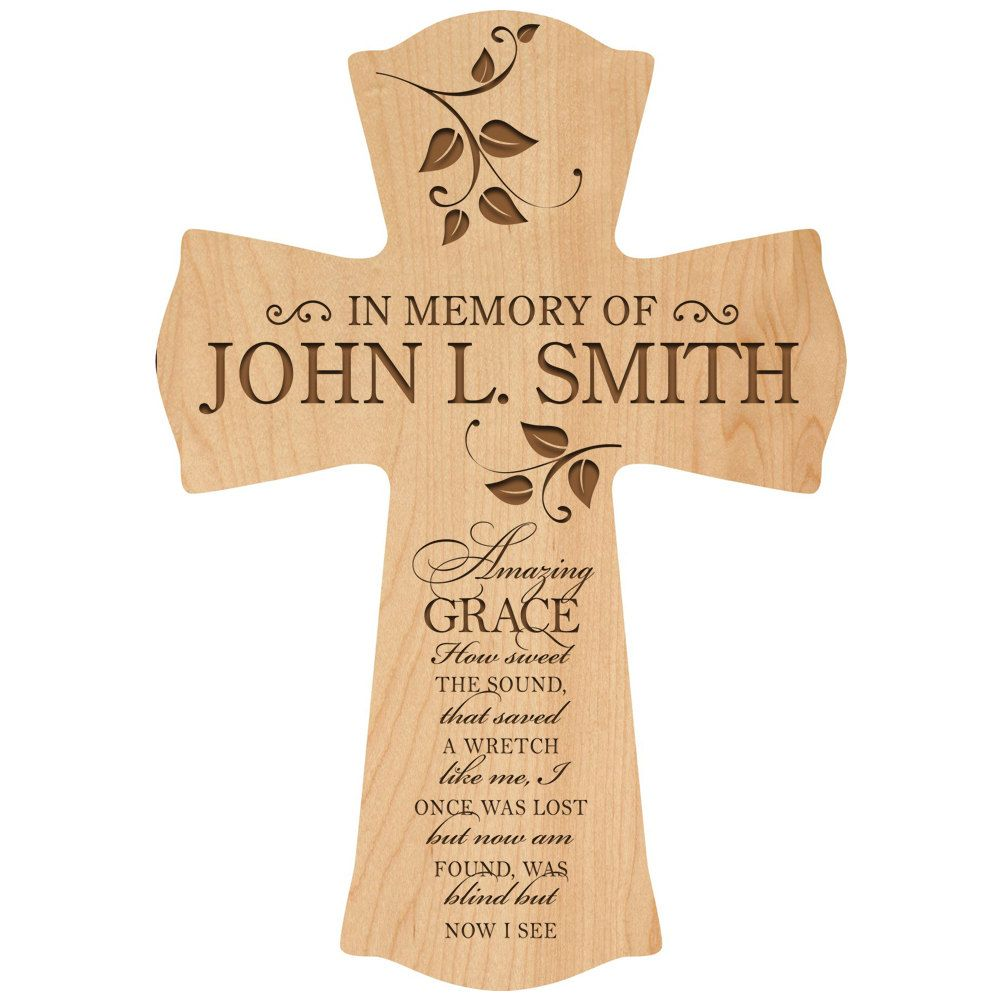In loving memory personalized wall crossin memory of dad