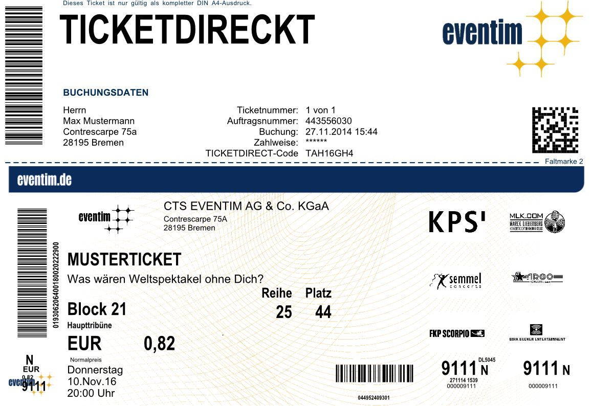 Eventim Ticket Check