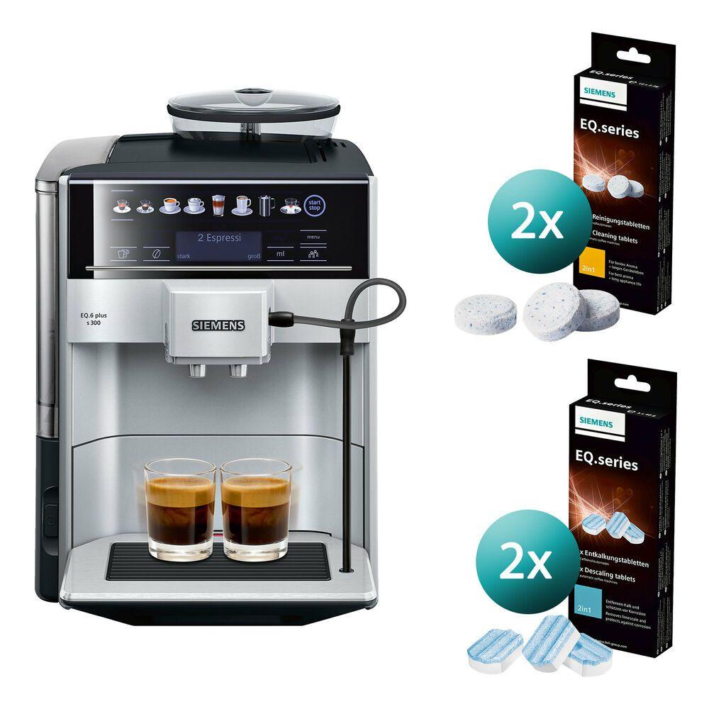 Siemens Te653501de Eq 6 Kaffeevollautomat Kaffeemaschine Inkl Reinigungsset In 2020 Kaffeevollautomat Kaffeemaschine Espressomaschine
