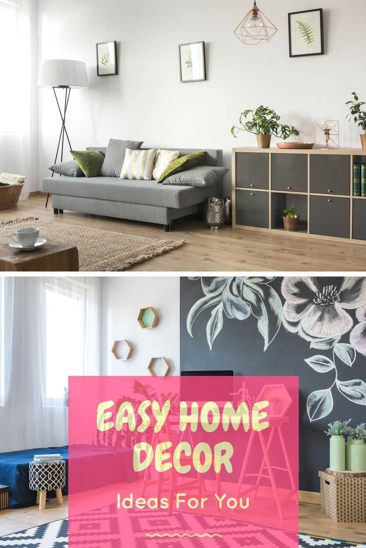 Easy home decor ideas integrating these trouble free decorating can make such  big improvement in your also rh pinterest