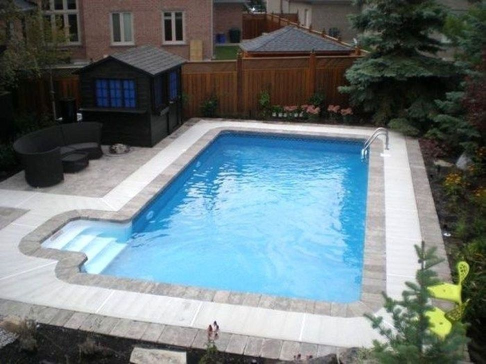 99 Comfy Backyard Designs Ideas With Swimming Pool Looks Cool Swimming Pool Kits Rectangle Swimming Pools In Ground Pool Kits