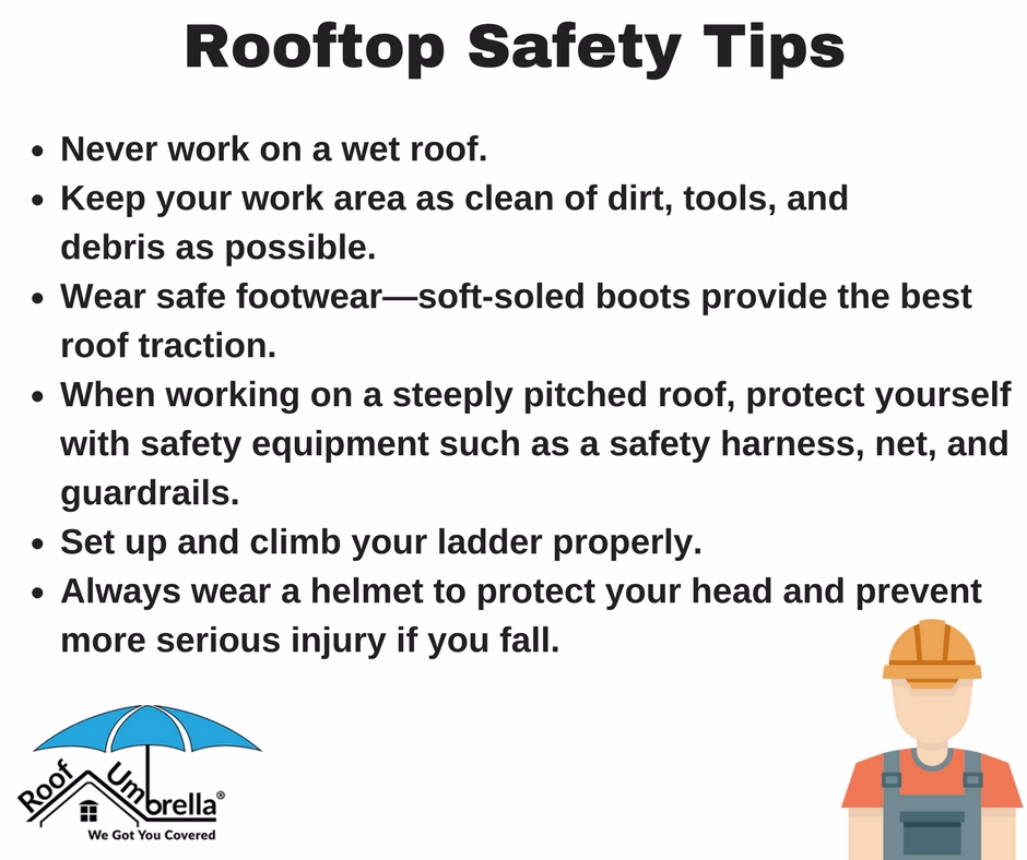Every Person Involved In The Roofing Project Has A Responsibility Towards Rooftop Safety Here Are Some Tips Which Worker Safety Workplace Safety Working Area