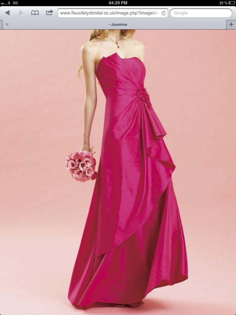 Pink bridesmaid dress dream wedding ideas pinterest weddings