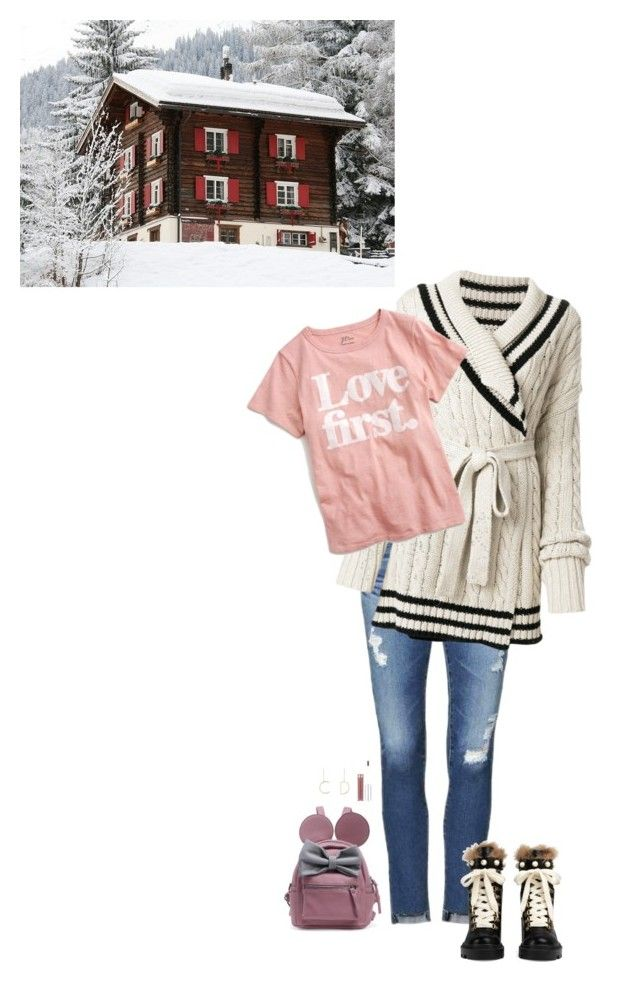 """""""Unbenannt #1408"""" by lila77 ❤ liked on Polyvore featuring AG Adriano Goldschmied, Maison Margiela, J.Crew, Gucci and Christian Dior"""