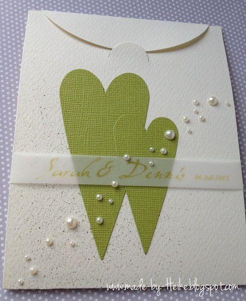 Meine kreative Welt Hochzeitskarte
