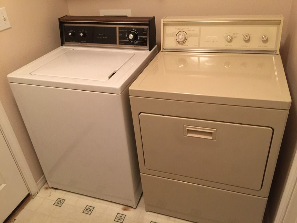 1990s Kenmore Washer Dryer Kenmore Washer Laundry Pair Kenmore
