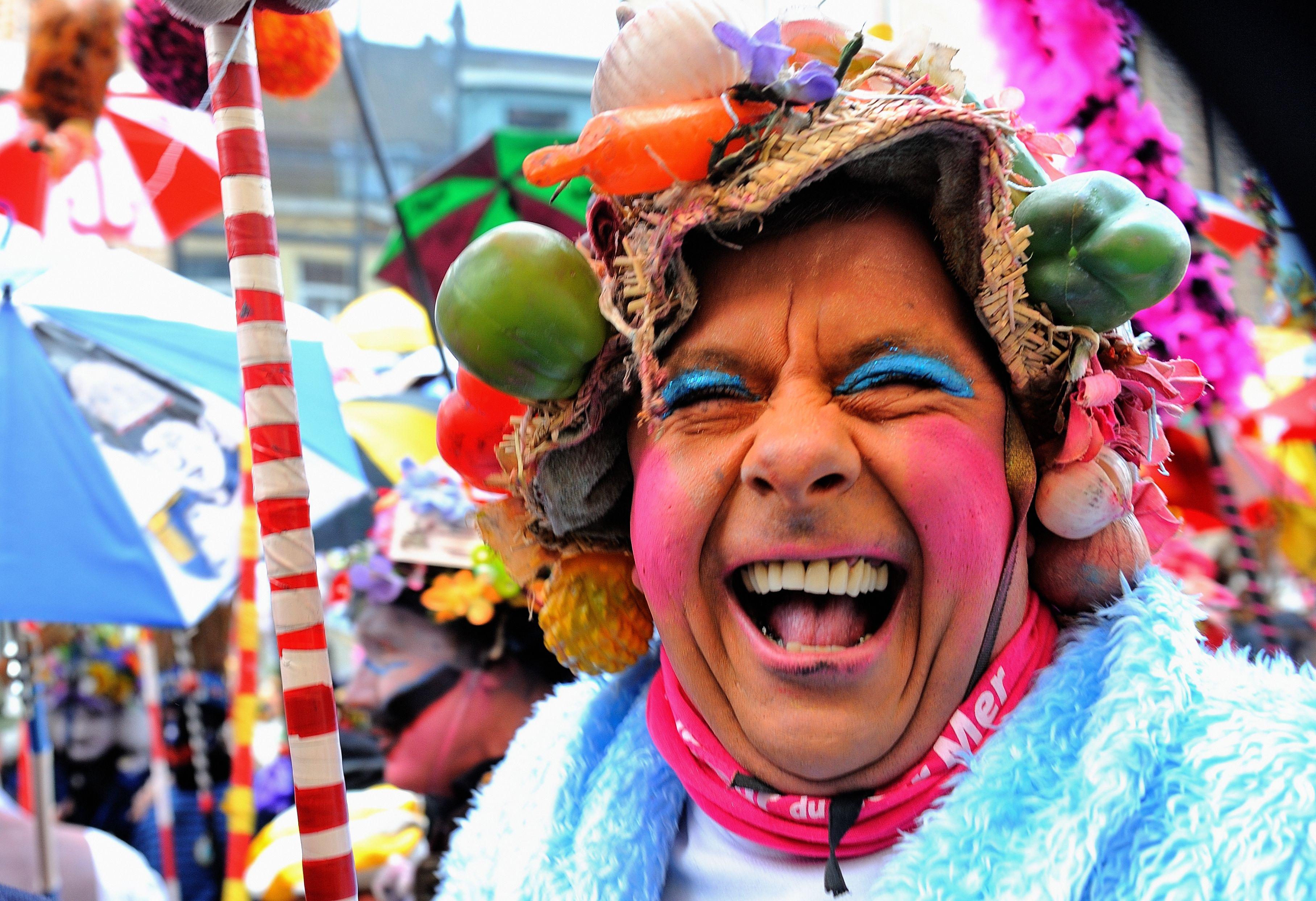 Carnavalier au Carnaval de Dunkerque, en France