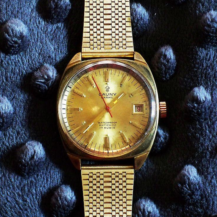 2e2e5449034e Cauny Prima-Darwil 17 Jewel w Date PS 1978