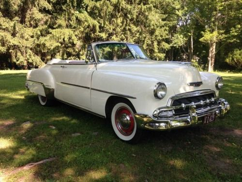 1952 Chevy Convertible via doyoulikevintage