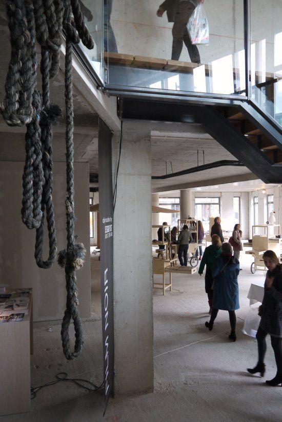 #Rietveld academy Elle Inside Design #IJburg Amsterdam 2012 #elle #elledecoration   #decoration #rope