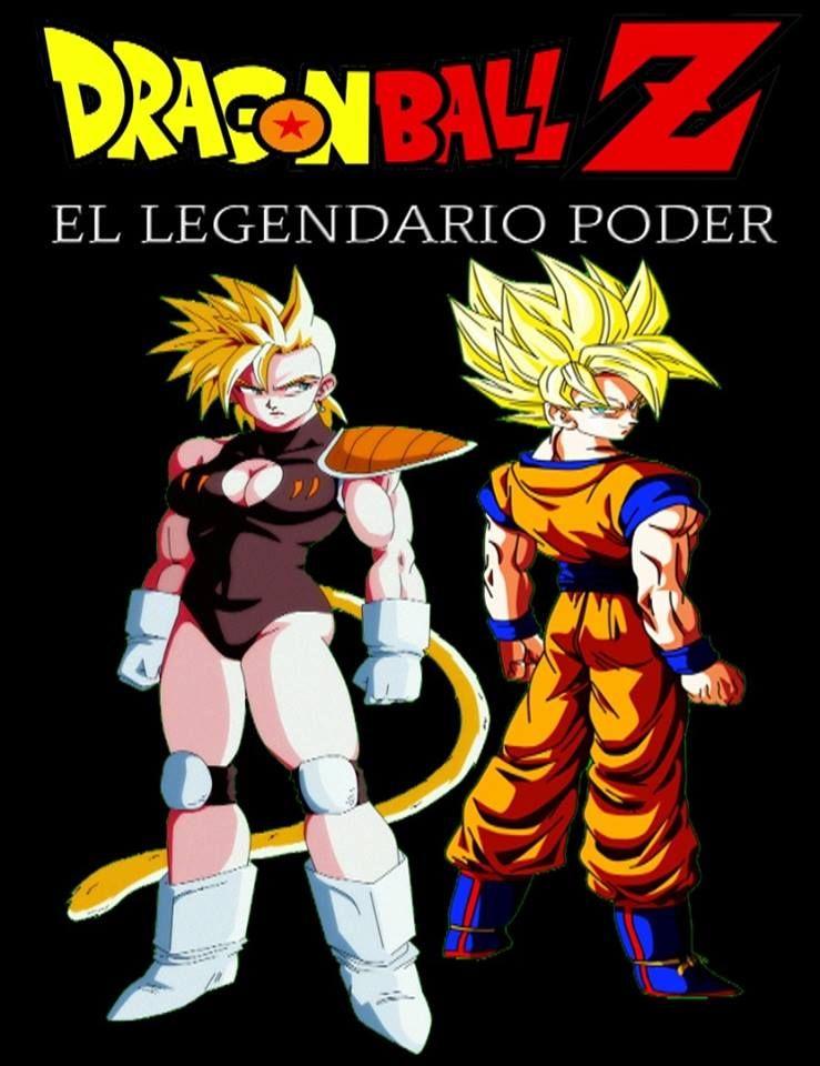 Ika y Goku - Dragon Ball Z El Legendario Poder - Portada de la PELICULA que fue PROHIBIDA.