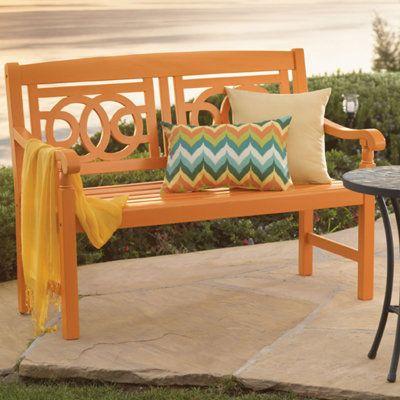 Amalfi Bench Outdoor Outdoor Furniture Outdoor Wood Furniture