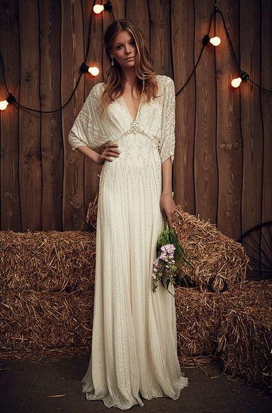 8d87c76f918f4 Dreamy Boho Wedding Dresses in 2019 | Wedding ideas | Jenny packham ...