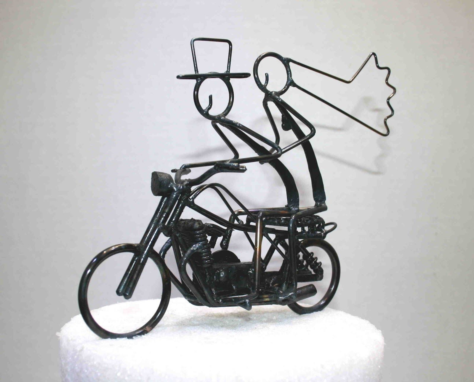 Motorcycle Cake Toppers For Wedding Cakes | The Wedding Specialists ...