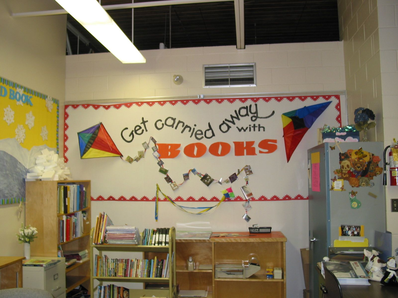 Barbra Hesson » Library Bulletin Boards