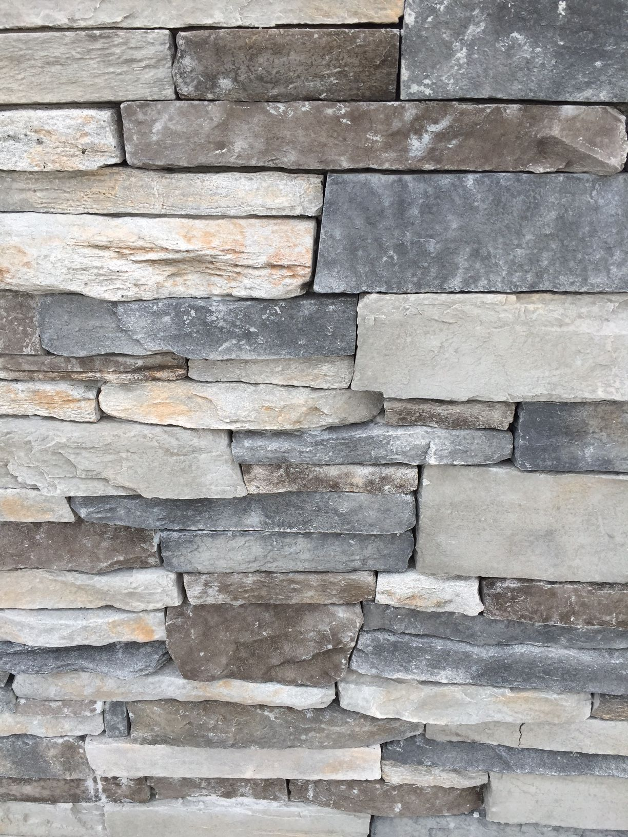 Stacked Dry Stone On Exterior Of House Floor Amp Wall In