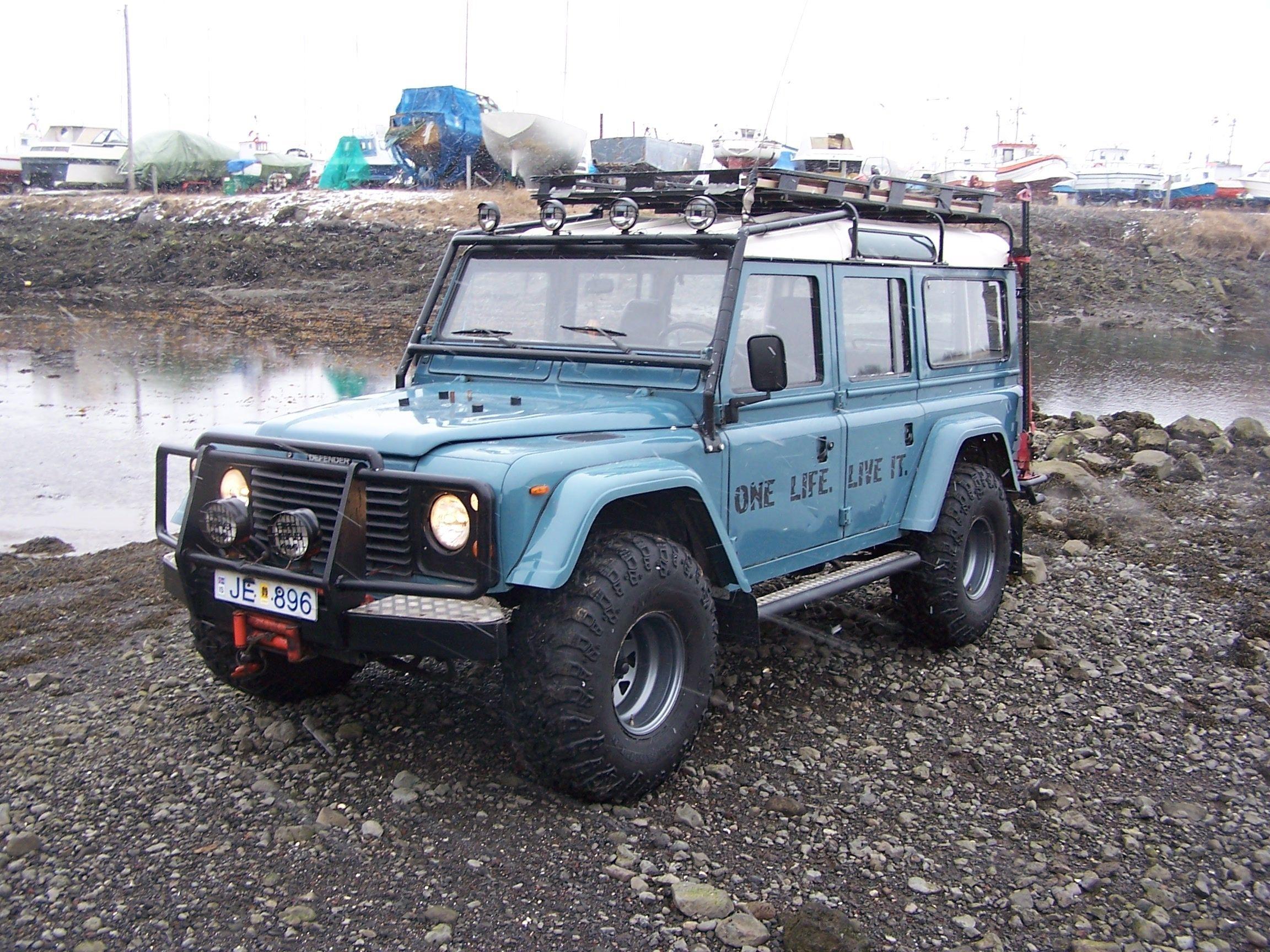 Boggi s 1985 land rover defender 90 tj yj rear flares front and back