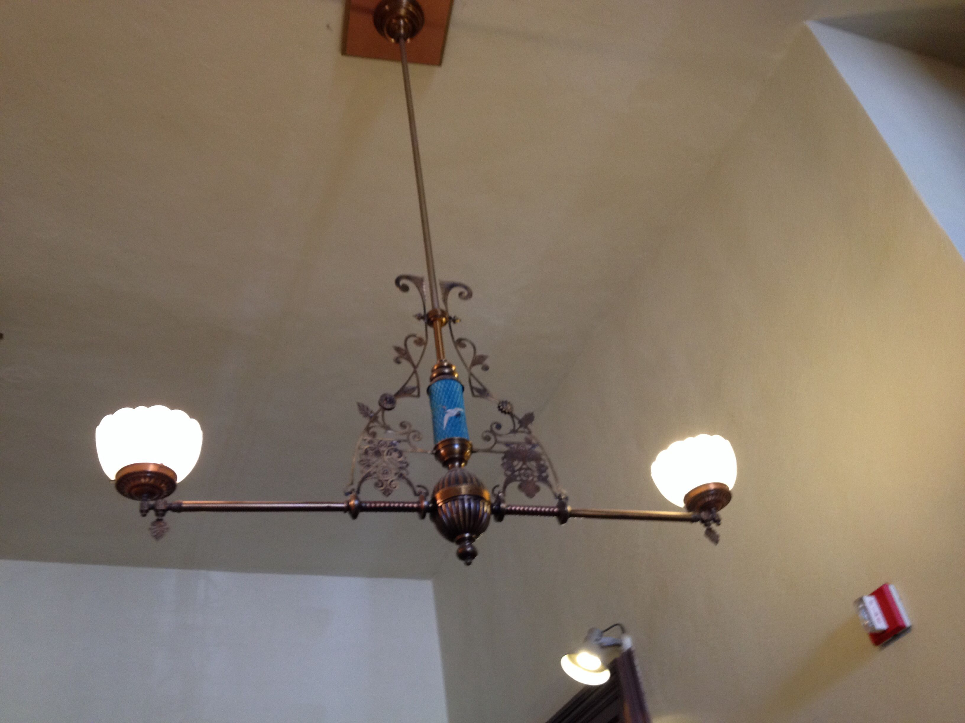 Art nouveau ceiling fixture at the tombstone az courthouse art art nouveau ceiling fixture at the tombstone az courthouse arubaitofo Images