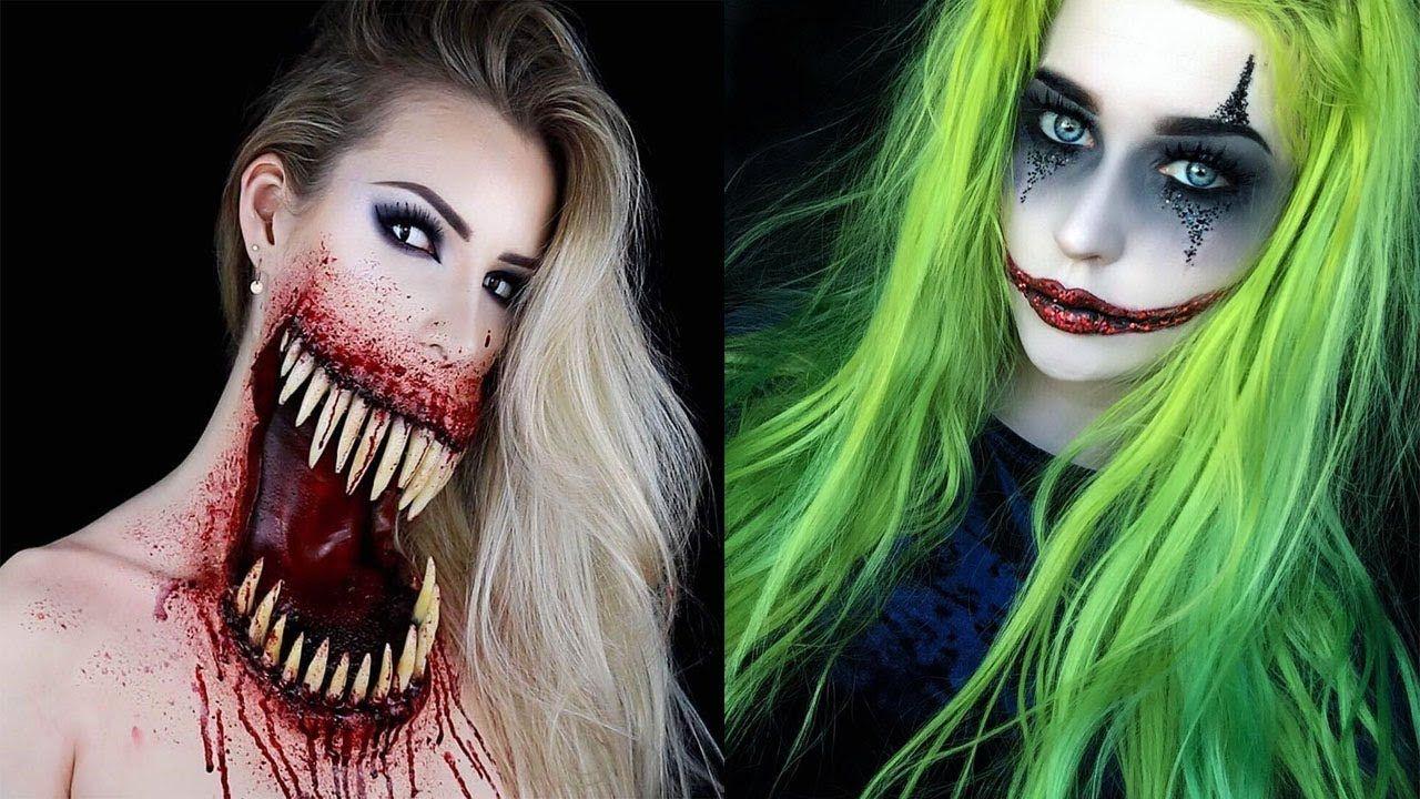 Top Halloween Makeup Tutorials Compilation Halloween Makeup Tutorial Halloween Makeup Makeup
