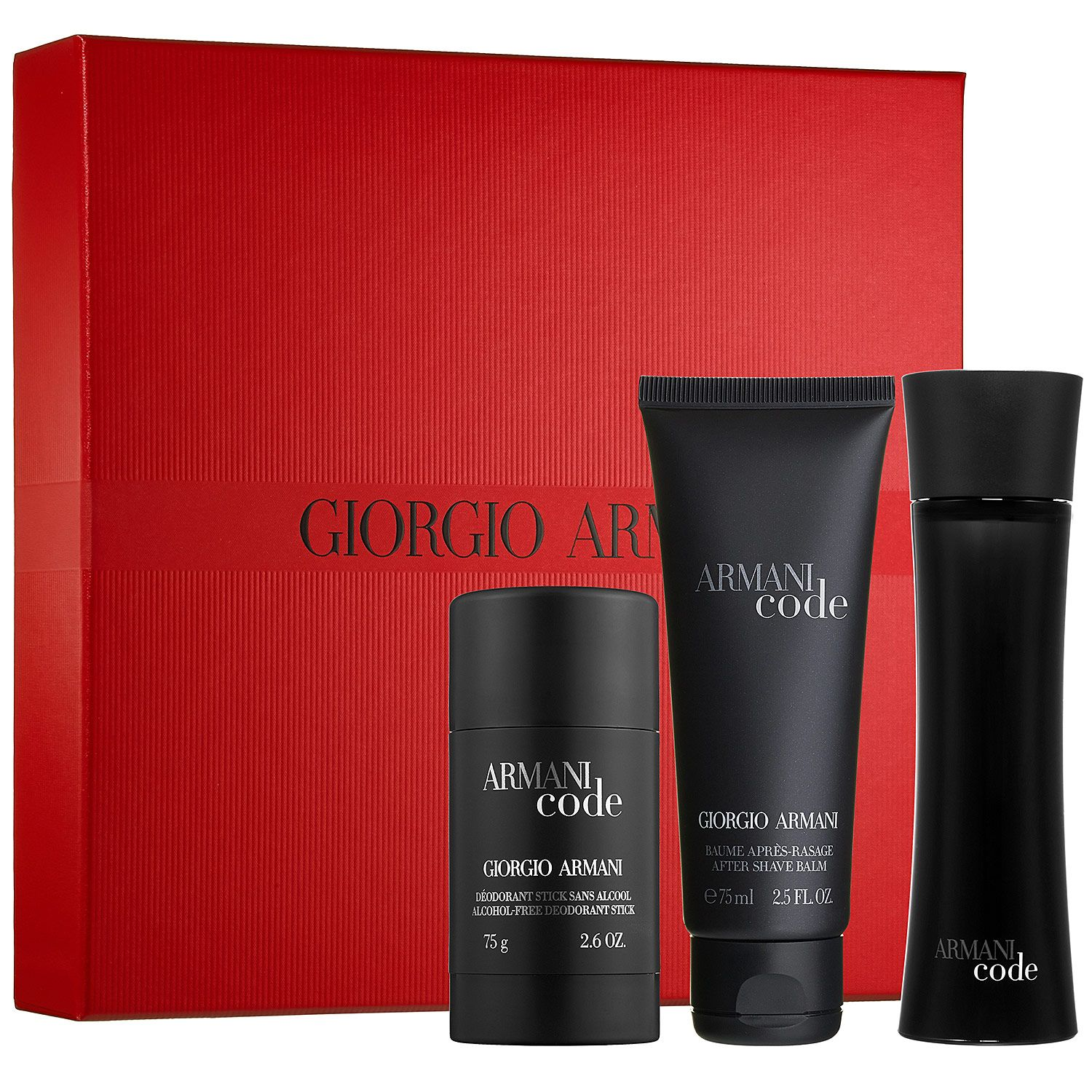 Giorgio Armani Armani Code for Women 3 Piece Gift Set with Eau de Parfum Spray, Soft Shower Gel & Moisturizing Perfumed Body Lotion. by GIORGIO ARMANI. More options available: $ Other Sellers: Product Features Launched by the design house of Giorgio Armani in the year