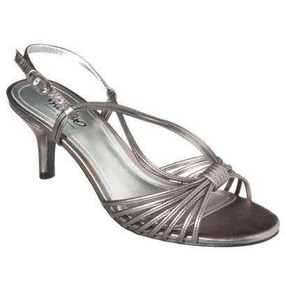Women's Mossimo® Idalia Dress Sandal - Pewter.Opens in a new window