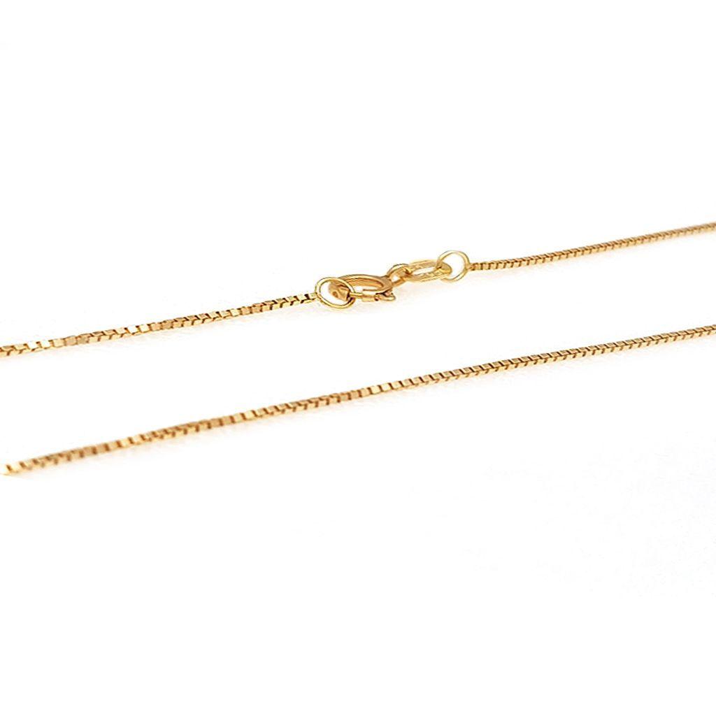 Corrente de Ouro Malha Veneziana com 50 cm   Joias de Ouro   Creative Joias. 8332ad35c2