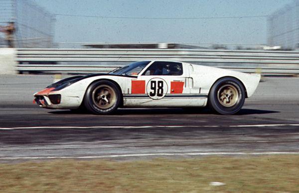 winning ford gt40 mk ii at daytona 1966 by nigel smuckatelli via flickr