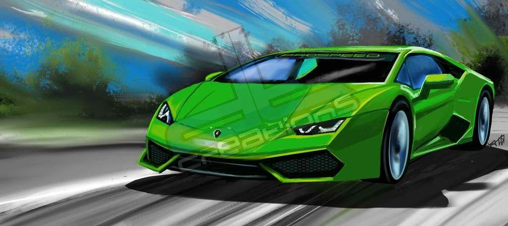 C8r Corvette print artwork By Automotive artist Daryl Thompson