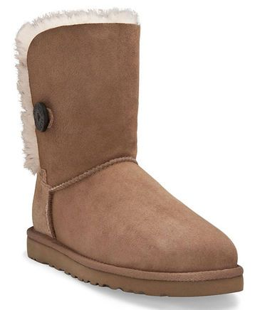 check out e529f 920ec UGG Boot Bailey Button chestnut fashion trends winter engelhorn