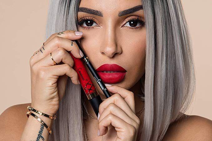 Sananas Beauty Duo Rouge à Lèvres Liquide Mat Et Crayon à