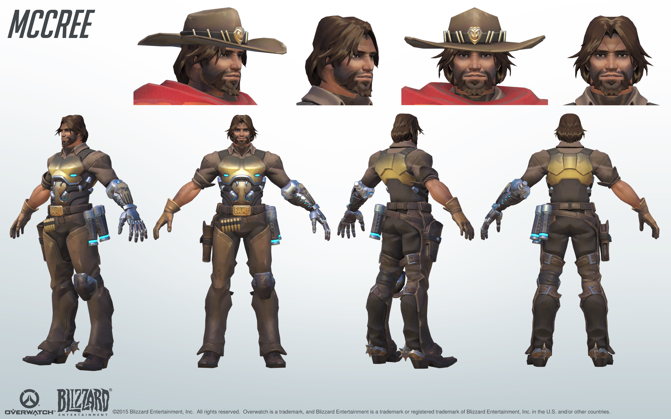 Mccree Cosplay Reference Guide 2 Overwatch Mccree Overwatch Character Art Mccree Cosplay