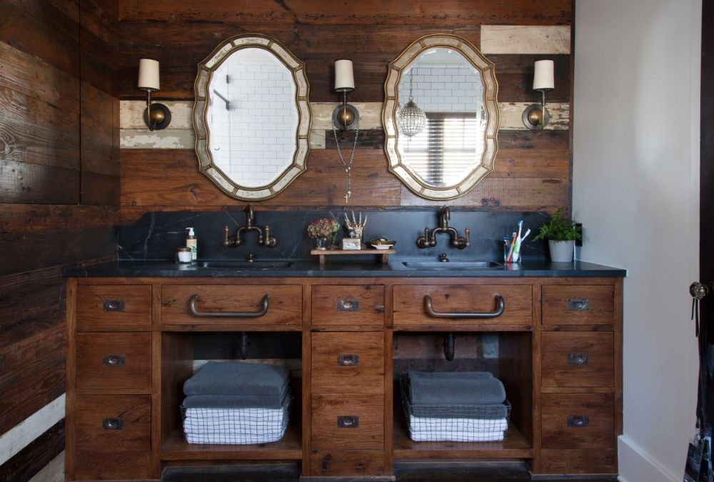 31 Gorgeous Rustic Bathroom Decor Ideas to
