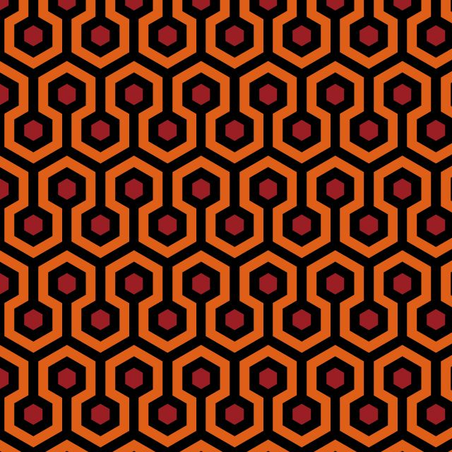 Fabric Pattern Based On The Iconic Carpet In Movie