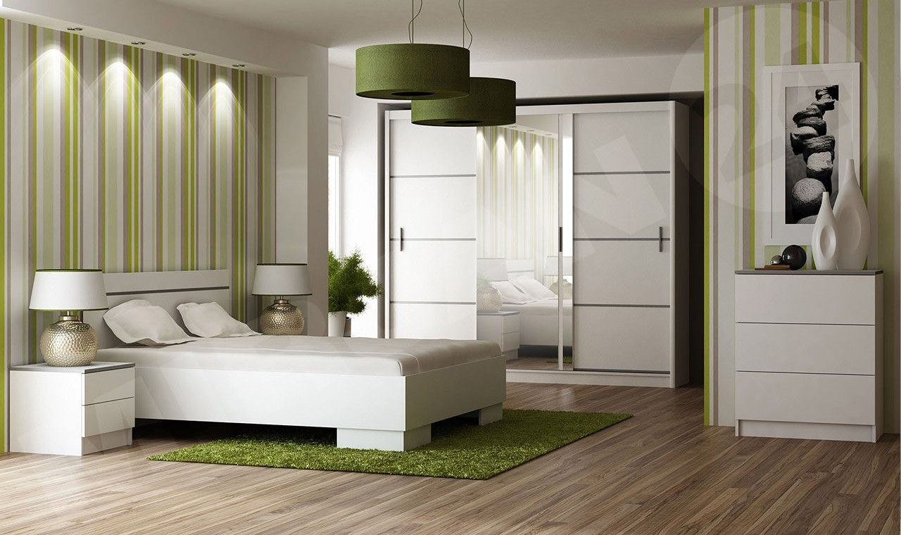 Dekorieren Sie Ihr Schlafzimmer In Grun Mirjan24 Weisses