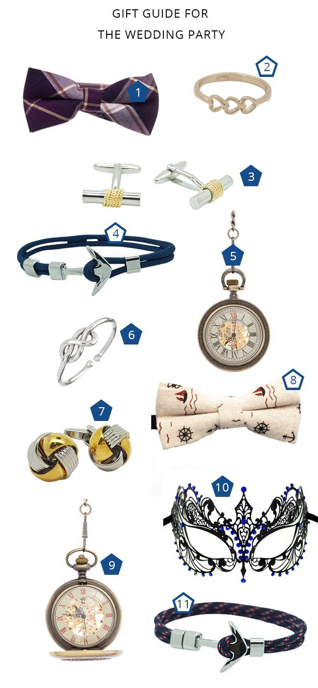 Gift Guide For Your Wedding Party By Coastal Bride