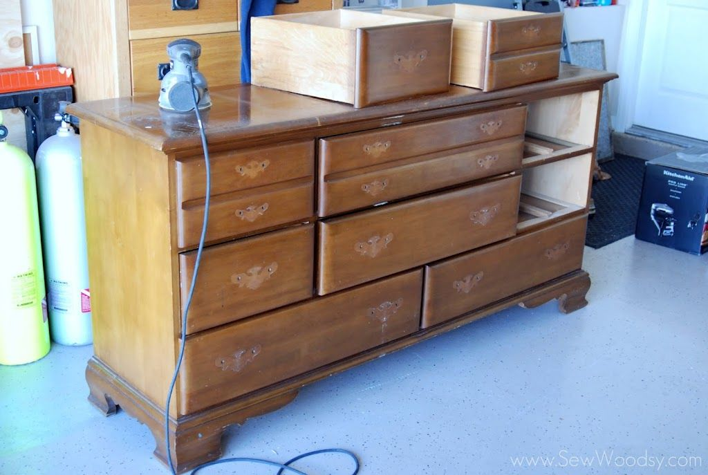 How to sand and prep furniture for refinishing