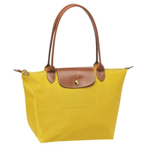 Longchamp Tasche Le Pliage Medium Folding Tote Stiel Curry Womens Tote Bags Bags Longchamp Le Pliage