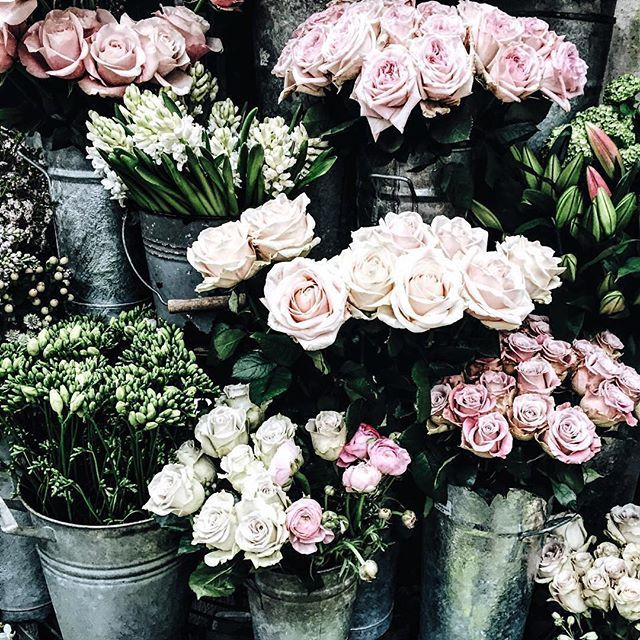 Fresh flowers to start the weekend off right.
