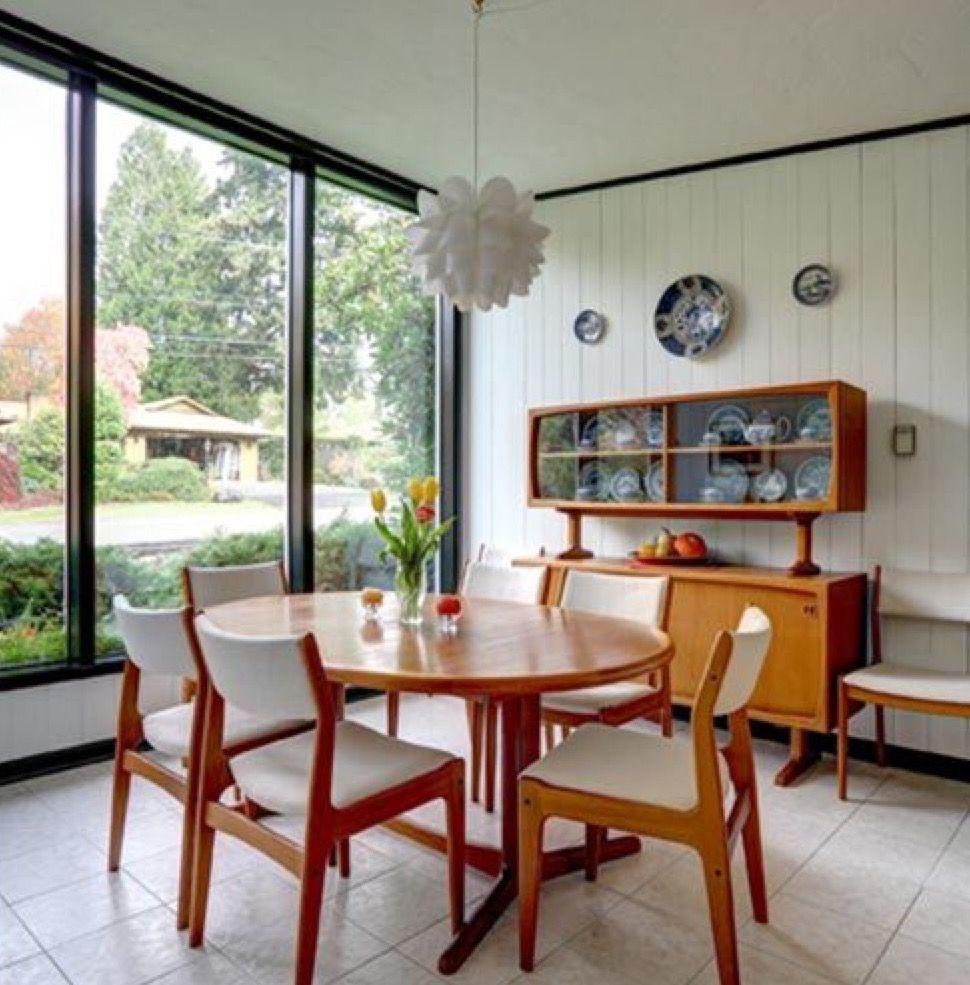 Fesselnd Stilvoll Wohnen, Einrichten Und Wohnen, Mitte Des Jahrhundert Moderne Kunst,  Moderne Esszimmer,