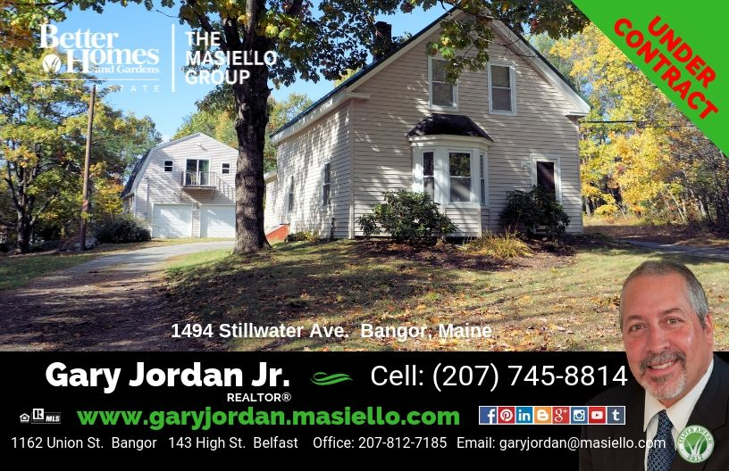 Under Contract In Bangor Maine Its A Great Time To List Your
