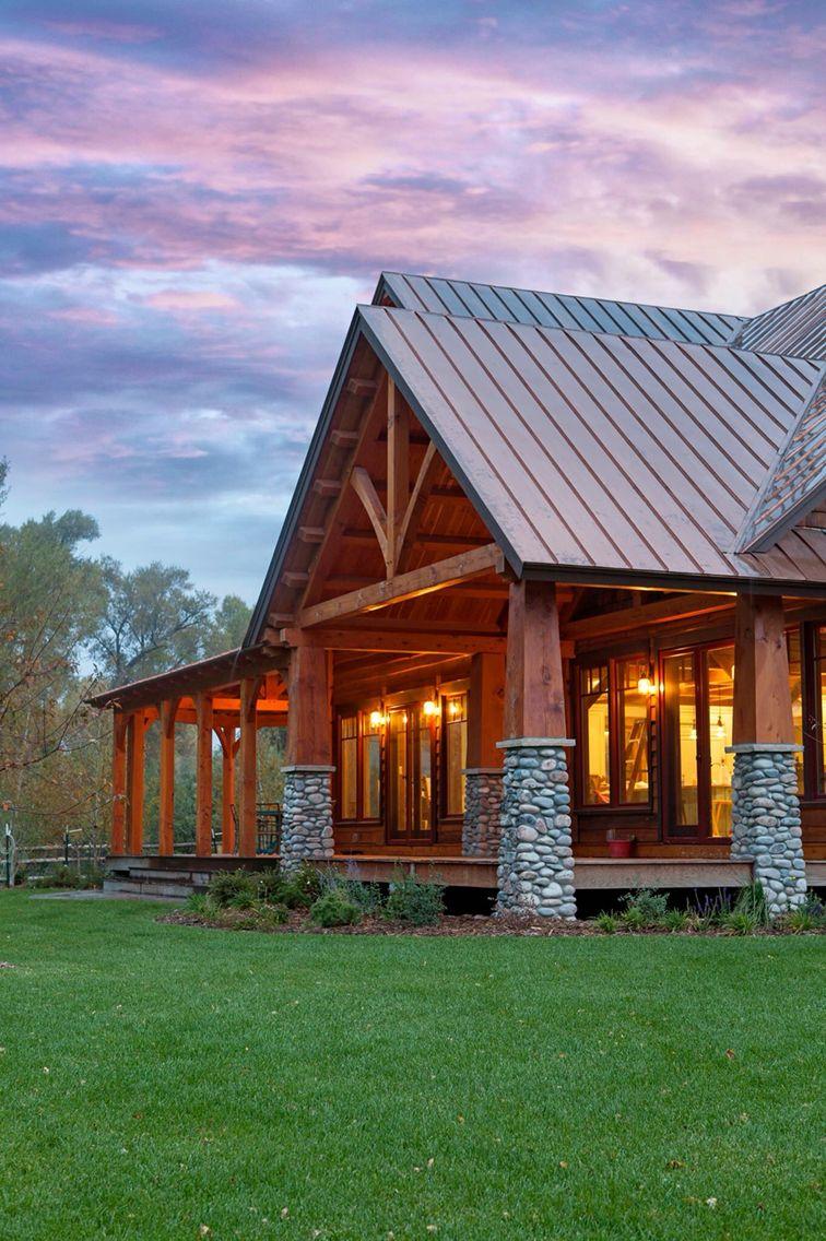 Idea by Kelly Easter on House ideas House styles, Log