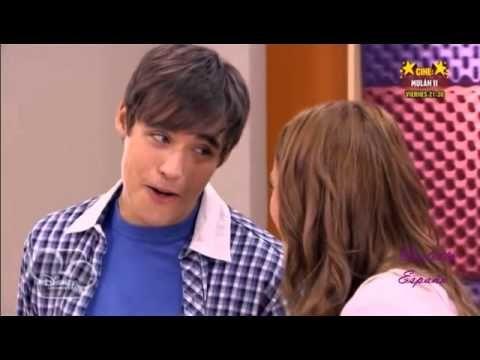 Violetta y Leon cantan en clase de Angie y Tomas se queda mal  TV